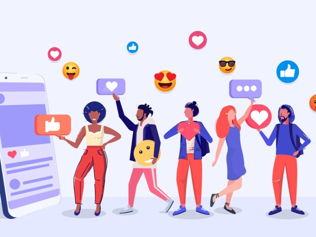 Connect with social media accounts